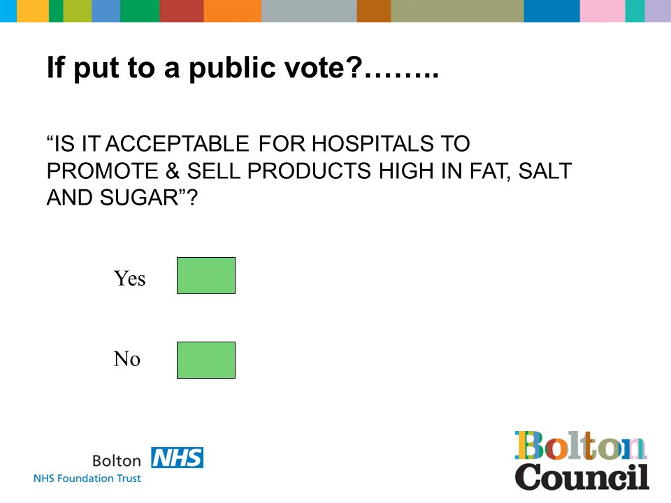 If put to a public vote ……..