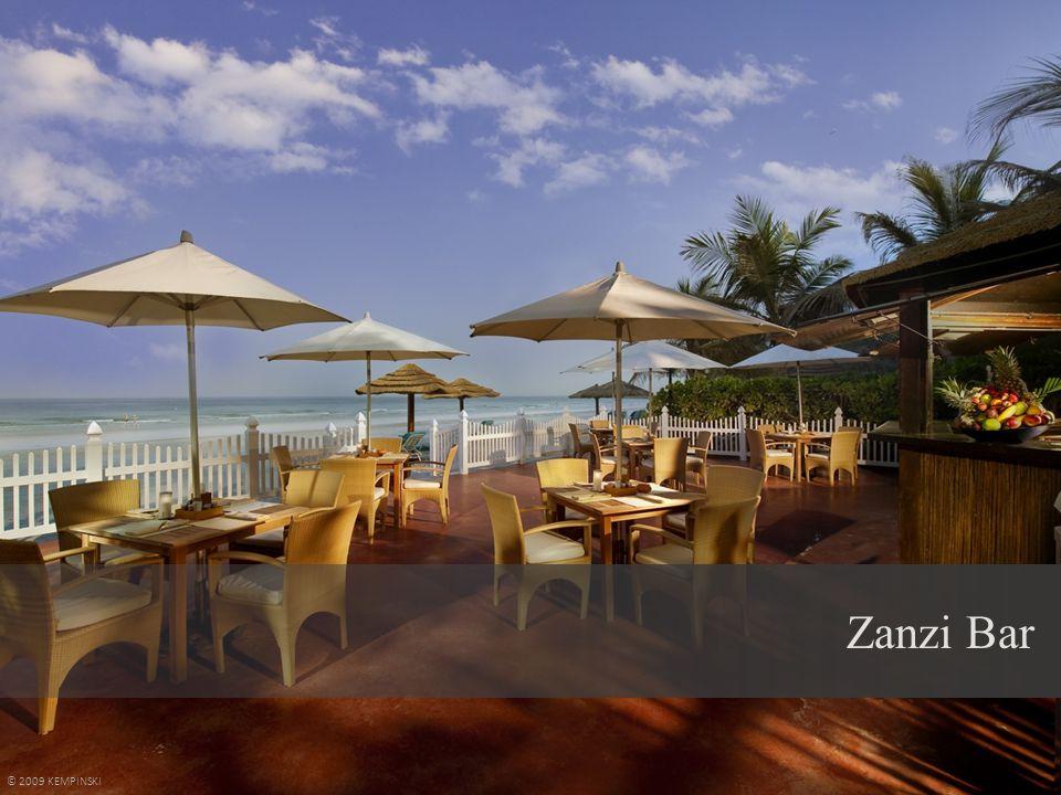 Zanzi Bar © 2009 KEMPINSKI