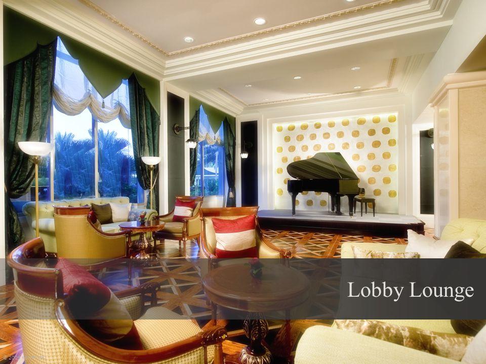 Lobby Lounge © 2009 KEMPINSKI
