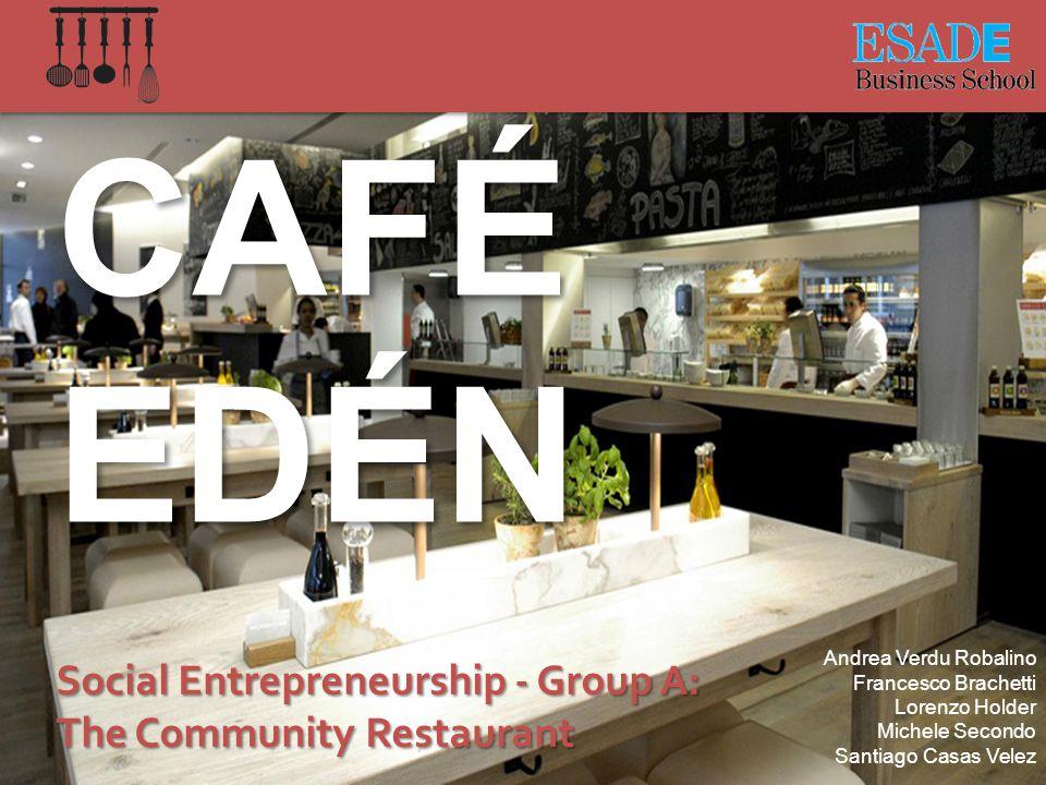Prototype – Idea Board Café Atmosphere in green surrounding