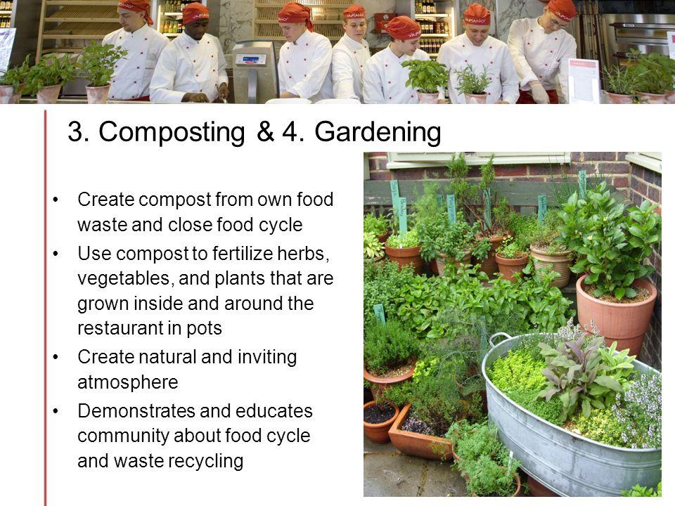 3. Composting & 4.