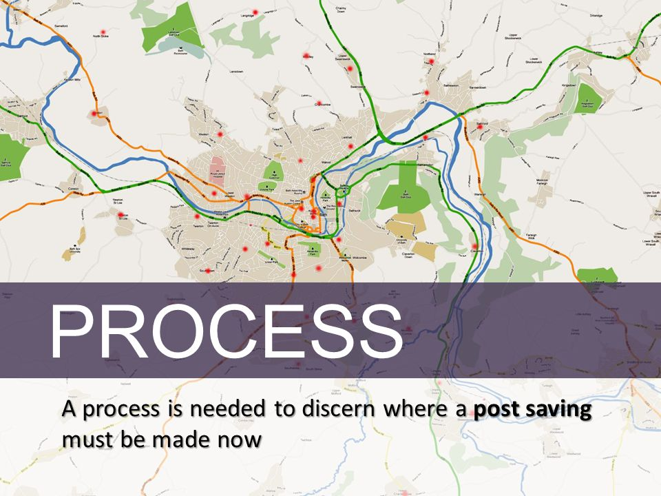 PROCESS A process is needed to discern where a post saving must be made now