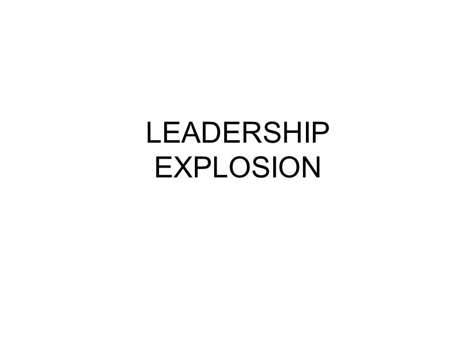 LEADERSHIP EXPLOSION