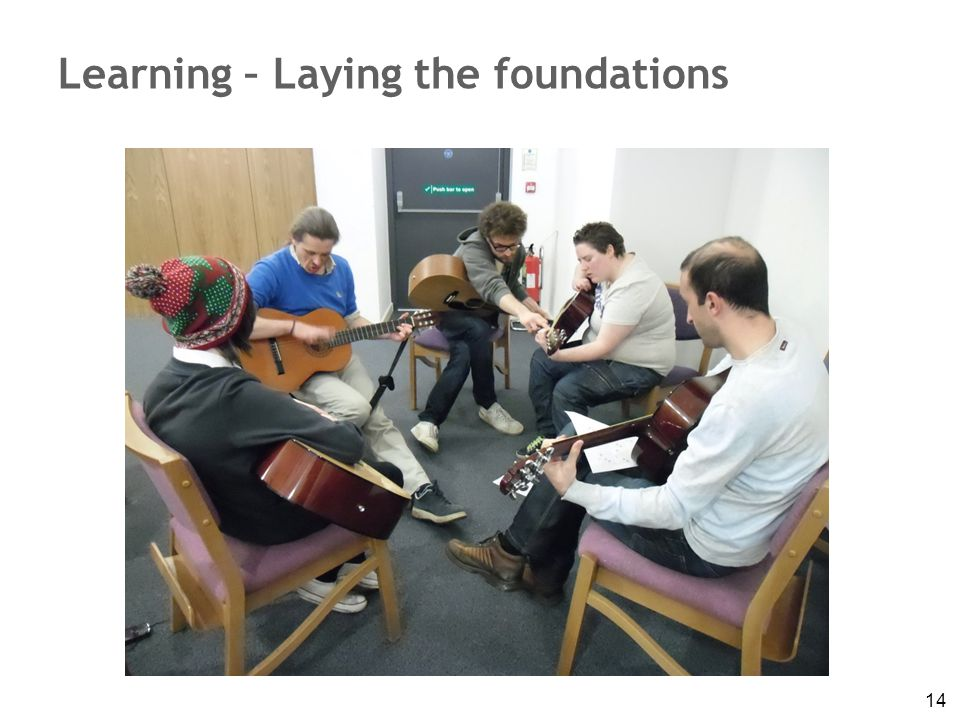 14 Learning – Laying the foundations