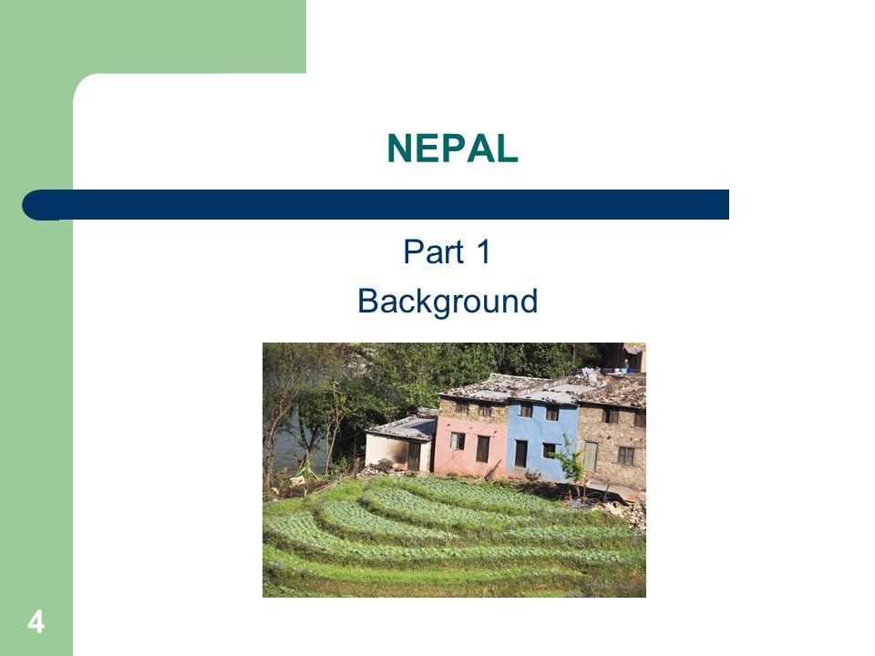 4 NEPAL Part 1 Background