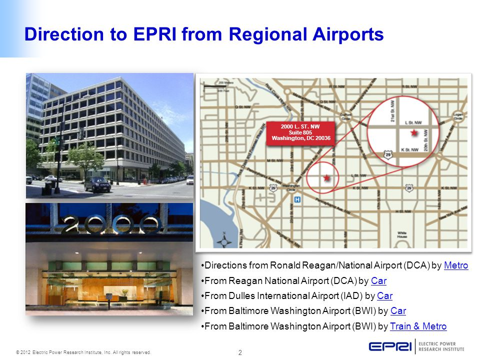 3 © 2012 Electric Power Research Institute, Inc.All rights reserved.