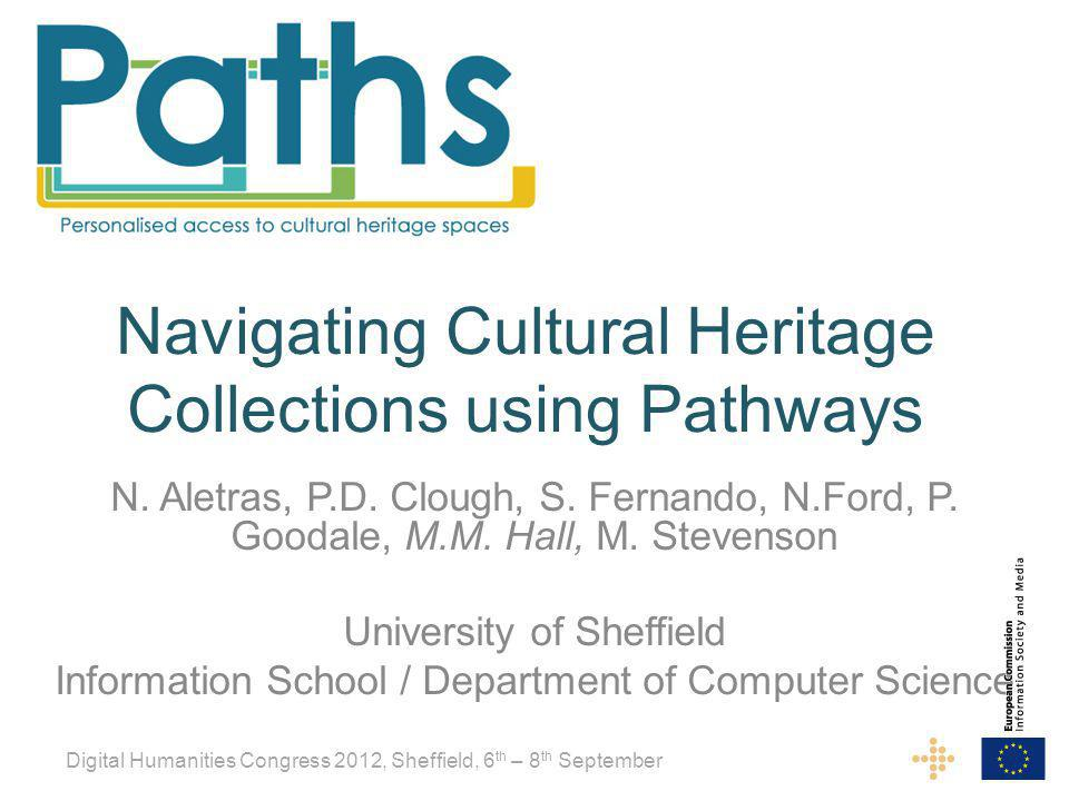 Navigating Cultural Heritage Collections using Pathways N.