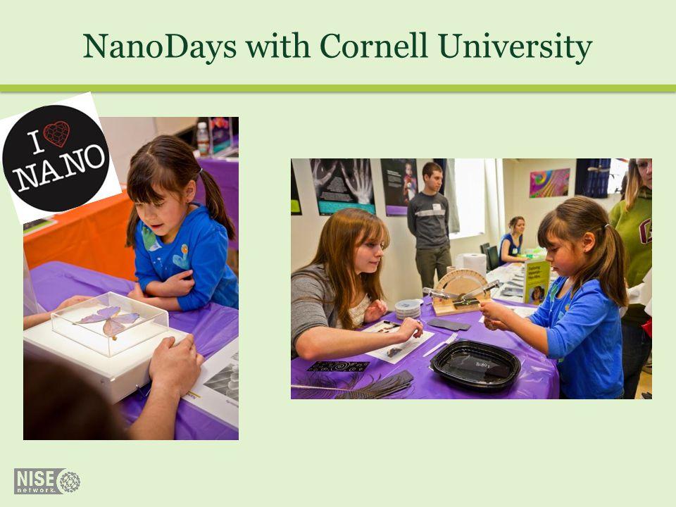 NanoDays with Cornell University