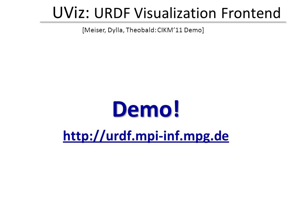 UViz: URDF Visualization Frontend Demo.