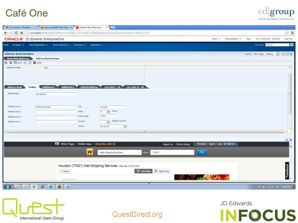 QuestDirect.org Café One