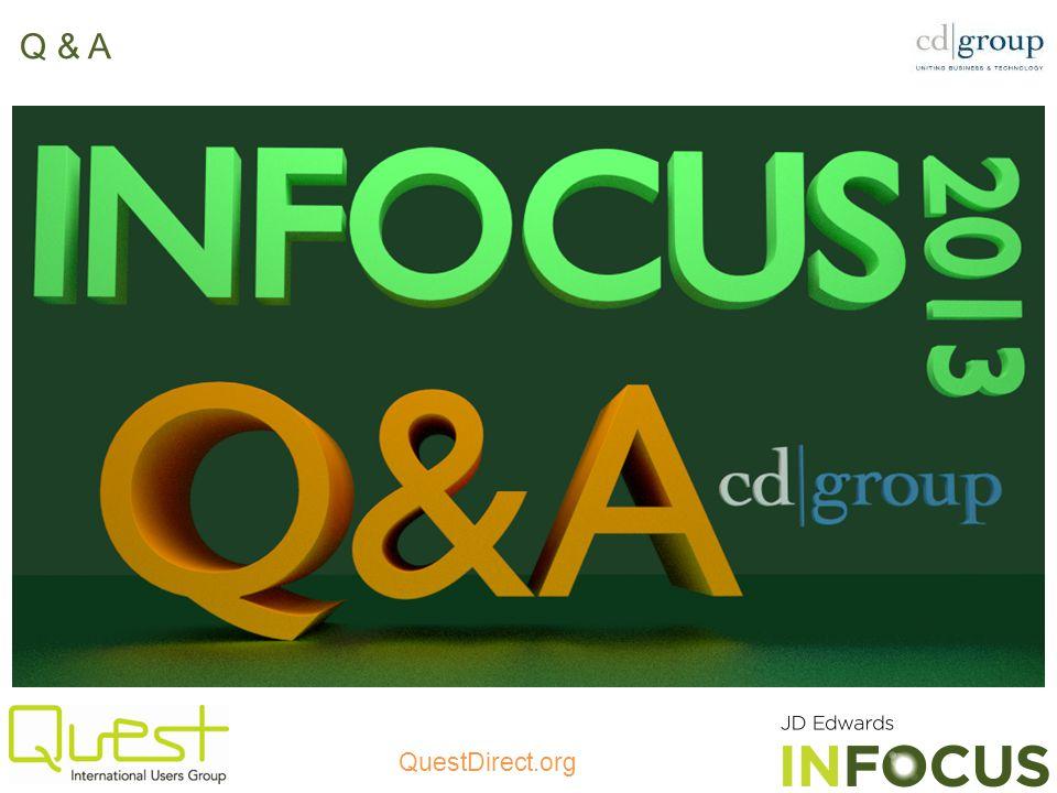 QuestDirect.org Q & A