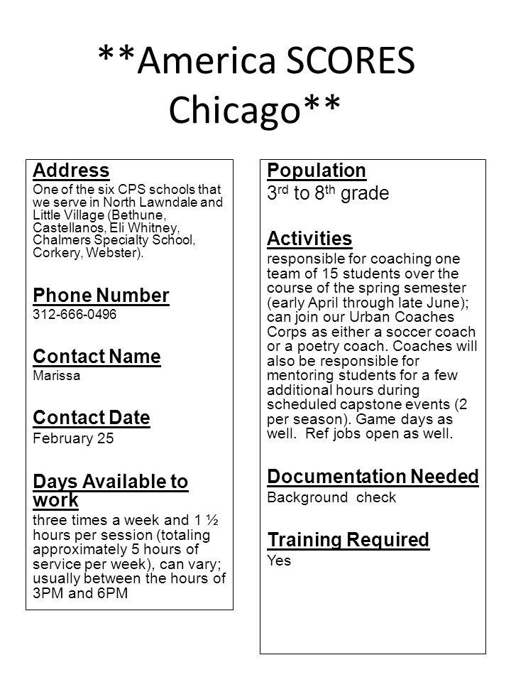 Lazaro Cardenas Elementary School Address 2345 S Millard Avenue Chicago, IL 60623 Phone Number 773-534-1475 Contact Name Ms.