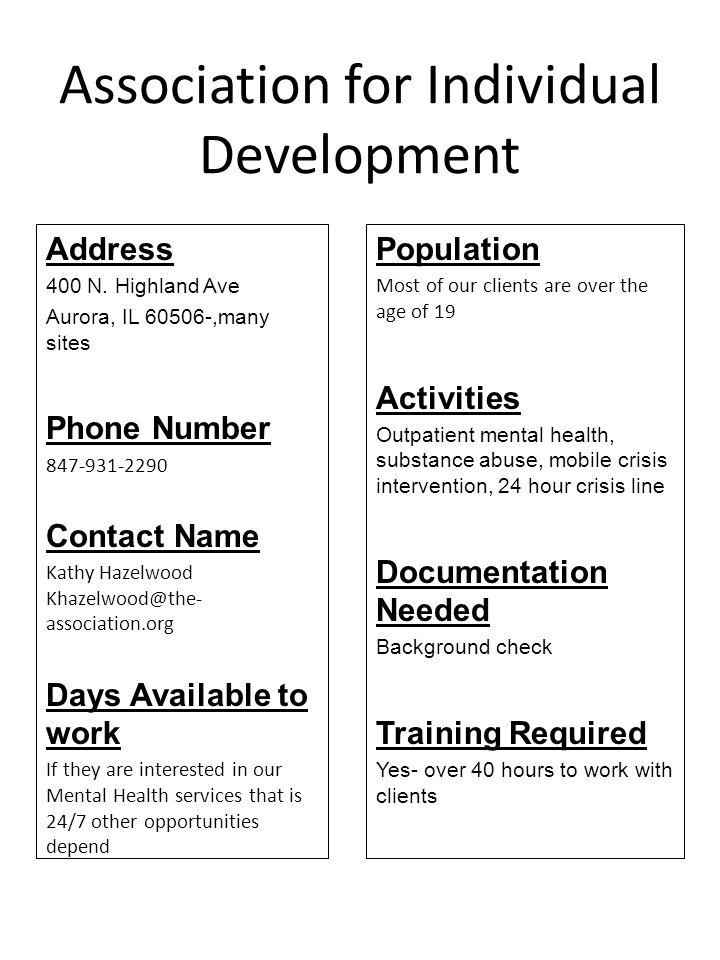 Children s Place Association Address 3059 W.Augusta Blvd.