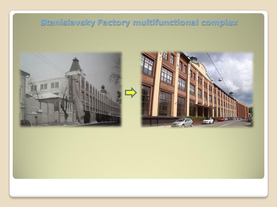 Stanislavsky Factory multifunctional complex