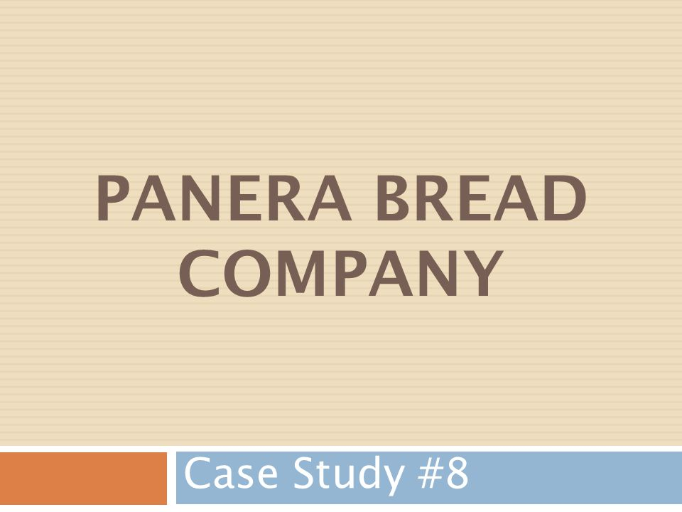 Company Overview Au Bon Pain Company Founded1978 in Boston, Massachusetts Purchased Saint Louis Bread Company in 1993 Sold Au Bon Pain Division in 1999 Changed company name to Panera Bread Company