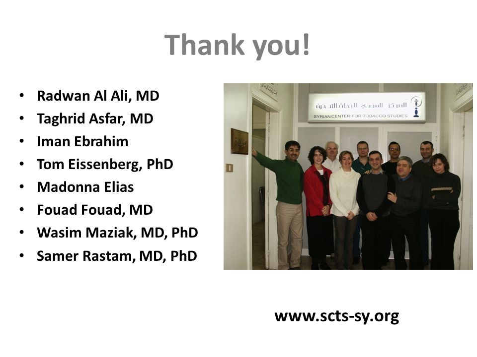 www.scts-sy.org Thank you.