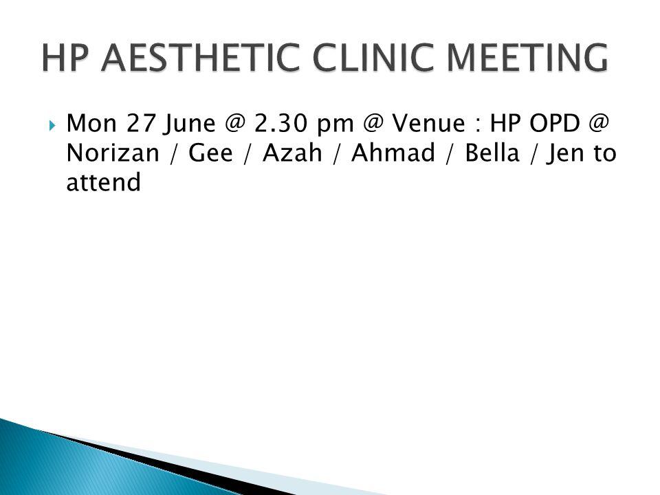- Meeting @ Monday 27 @ 1.00 pm @ Venue : SKTR 2 @ Kent / Bagak / Salbiah / Khairul to attend