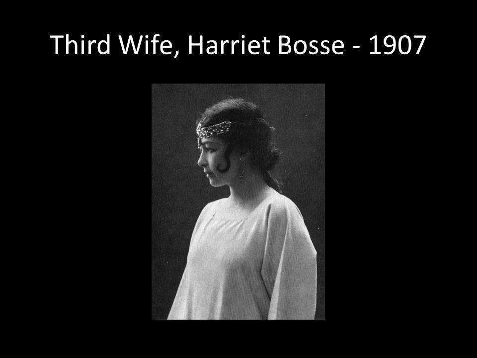 Third Wife, Harriet Bosse - 1907