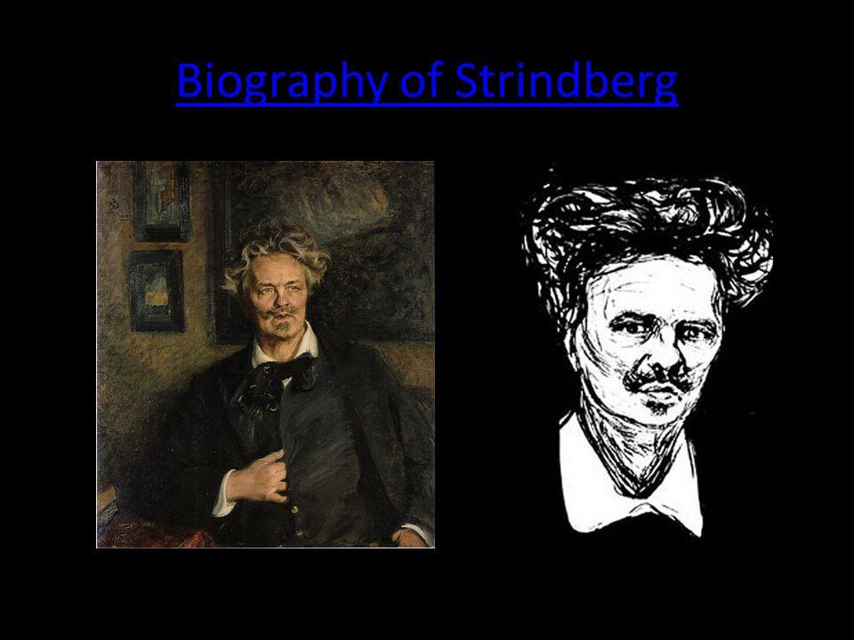 Biography of Strindberg