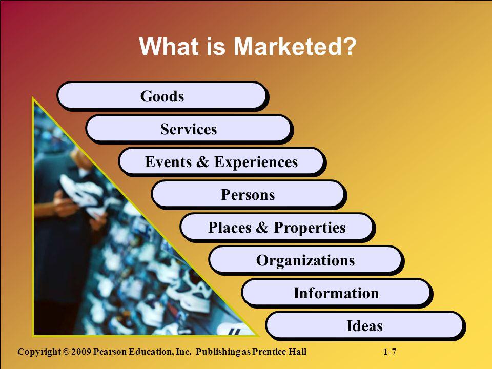 Marketers do not create needs: Needs preexist marketers.