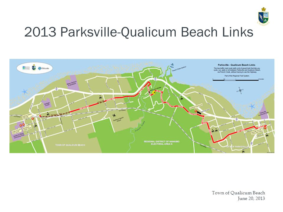 Town of Qualicum Beach June 20, Parksville-Qualicum Beach Links