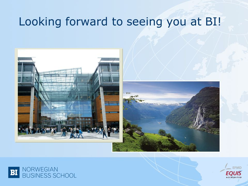 Looking forward to seeing you at BI!