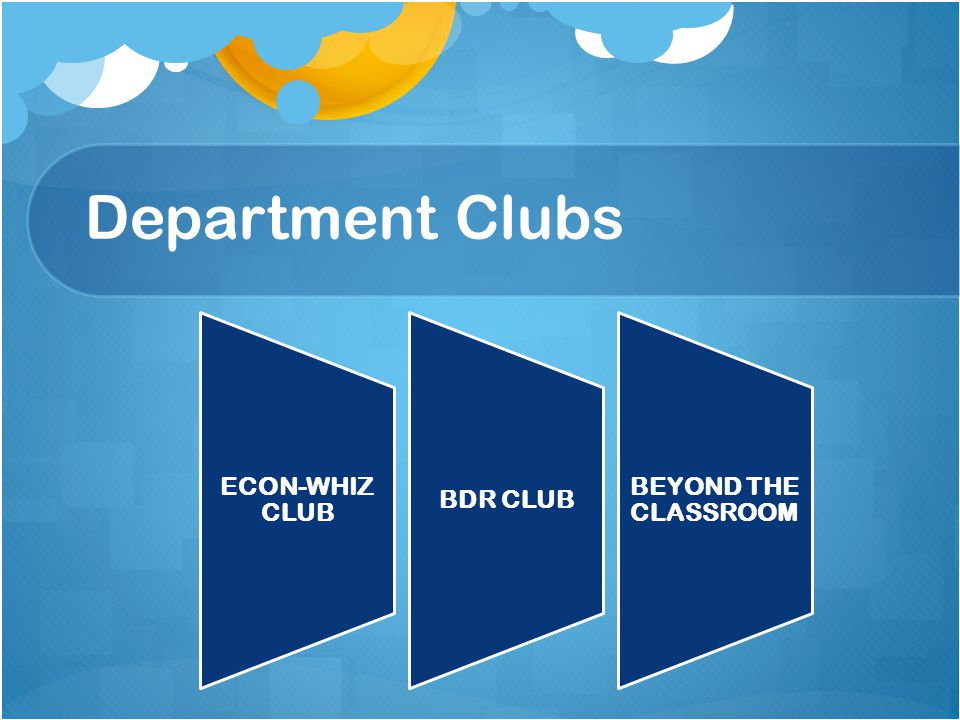 Department Clubs