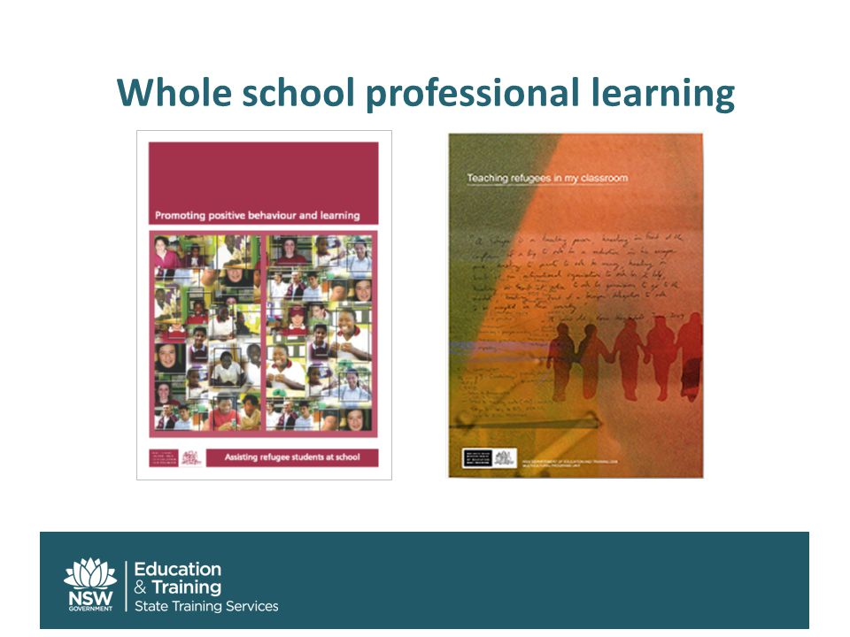 Whole school professional learning