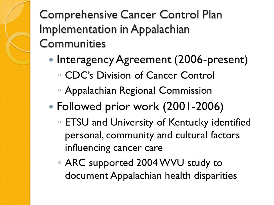 Toolkit Example A Toolkit for Developing Events to Connect State Comprehensive Cancer Control Coalitions and Programs with Underrepresented Geographic Areas Get the Conversation Started !