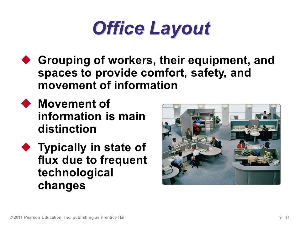 9 - 11© 2011 Pearson Education, Inc.
