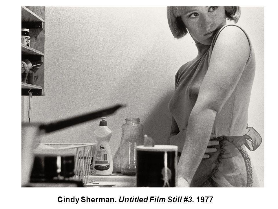 Cindy Sherman. Untitled Film Still #3. 1977