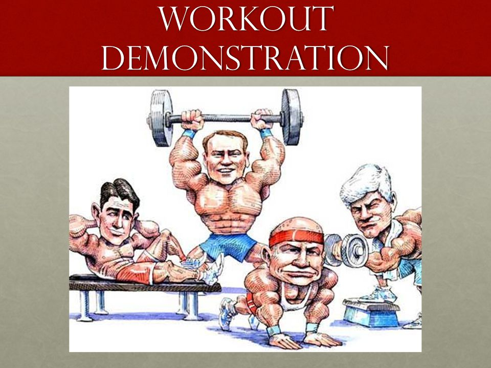 Workout demonstration