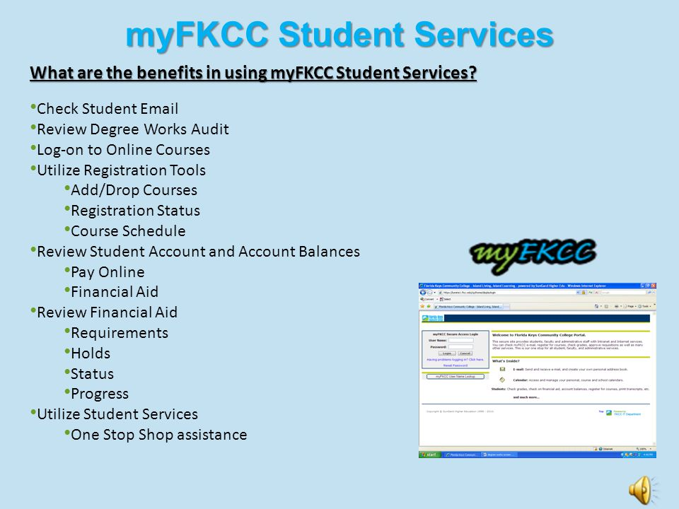 Resources Florida Keys Community College has a variety of resources that can help you move toward your academic and career goals. A number of our reso