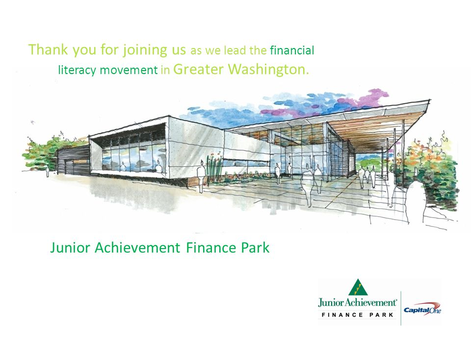 Thank you for joining us as we lead the financial literacy movement in Greater Washington.