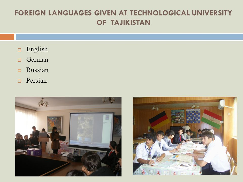 CREDIT SYSTEM OF EDUCATION By the Decision of the Ministry of Education of the Republic of Tajikistan (#698 from 22.09.2004), starting from September 1, 2005 Technological University of Tajikistan employed Credit System of Education.