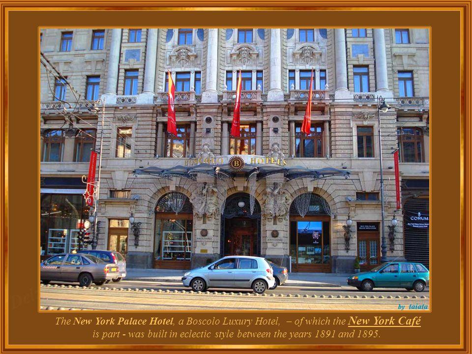 Hungary - Budapest Café New York