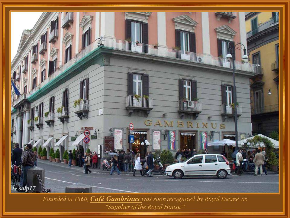 Italy – Naples Café Gambrinus