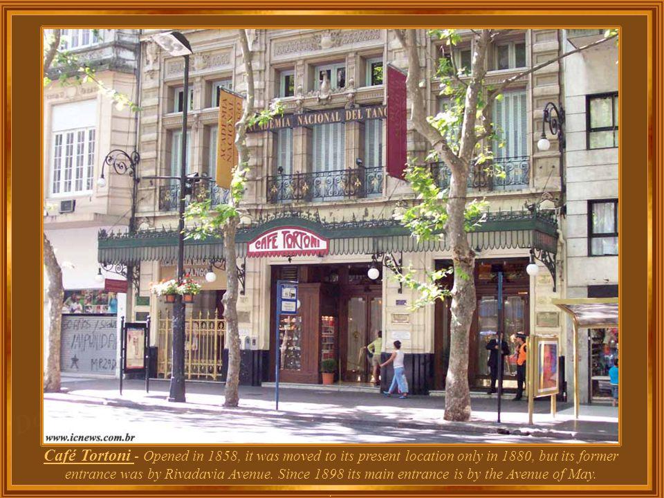 Argentina – Buenos Aires – Palermo Park Café Tortoni
