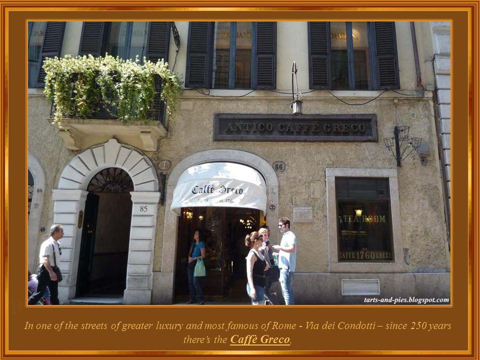 Italy – Rome Café Greco