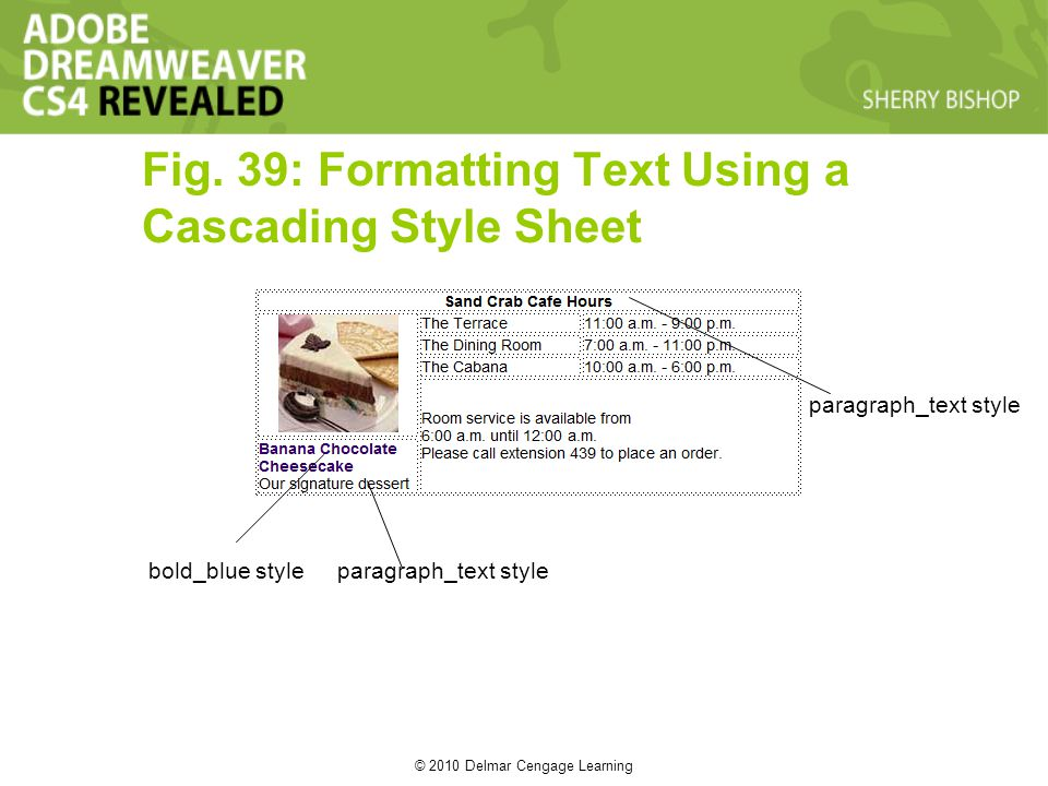© 2010 Delmar Cengage Learning Fig.