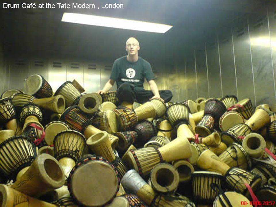 Drum Café at the Tate Modern, London