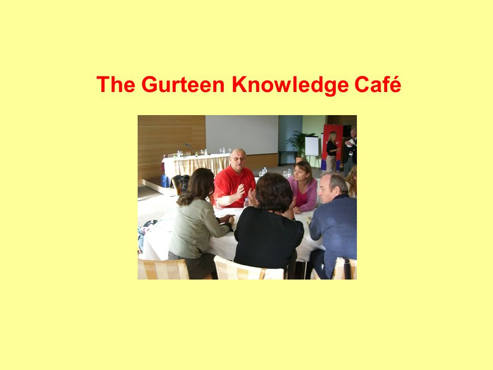 The Gurteen Knowledge Café