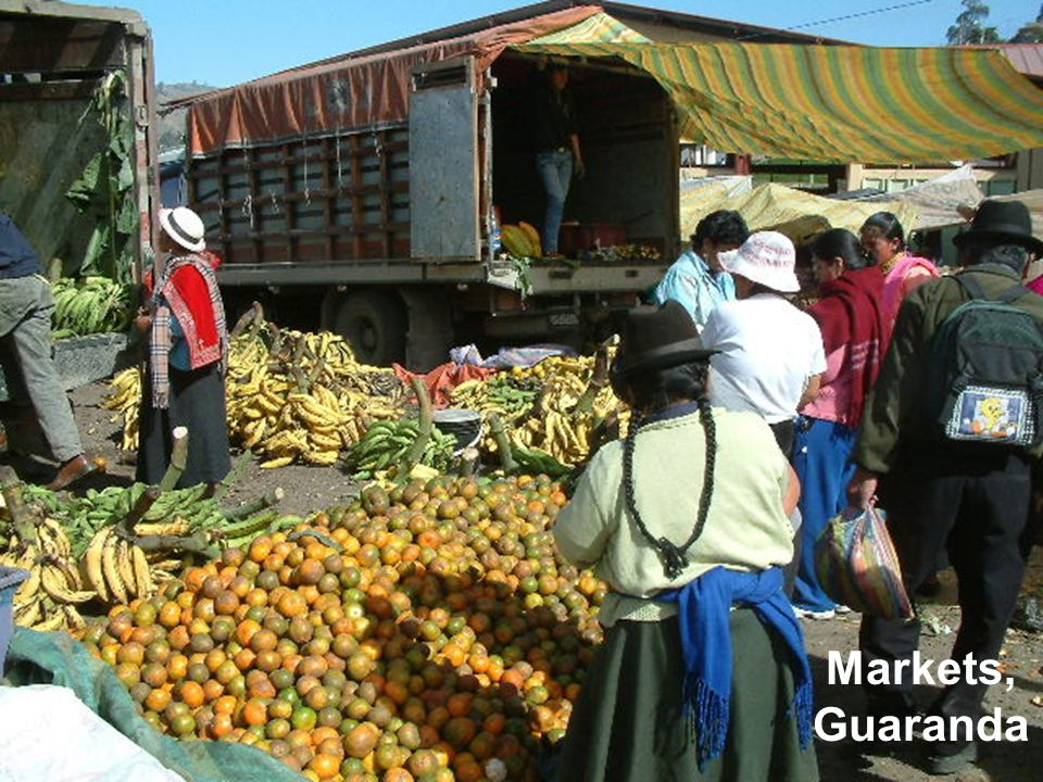 Markets, Guaranda