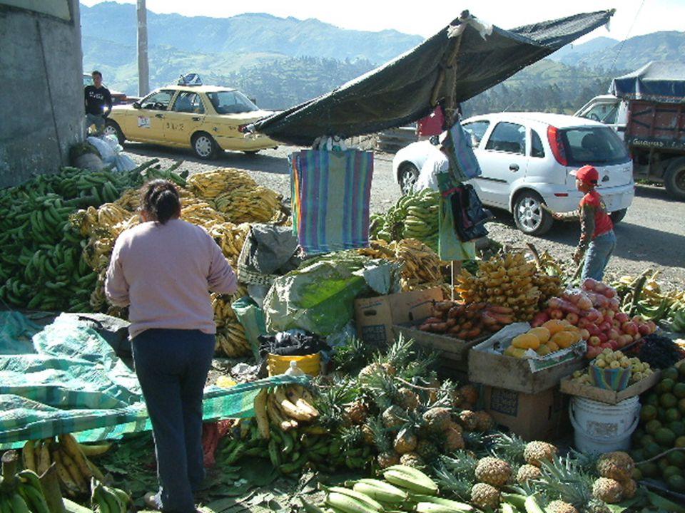 Market at Guaranda, Ecuador