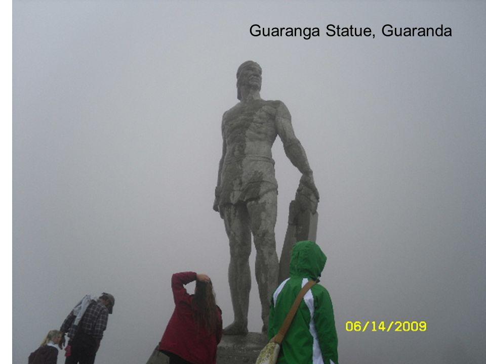 Guaranga Statue, Guaranda