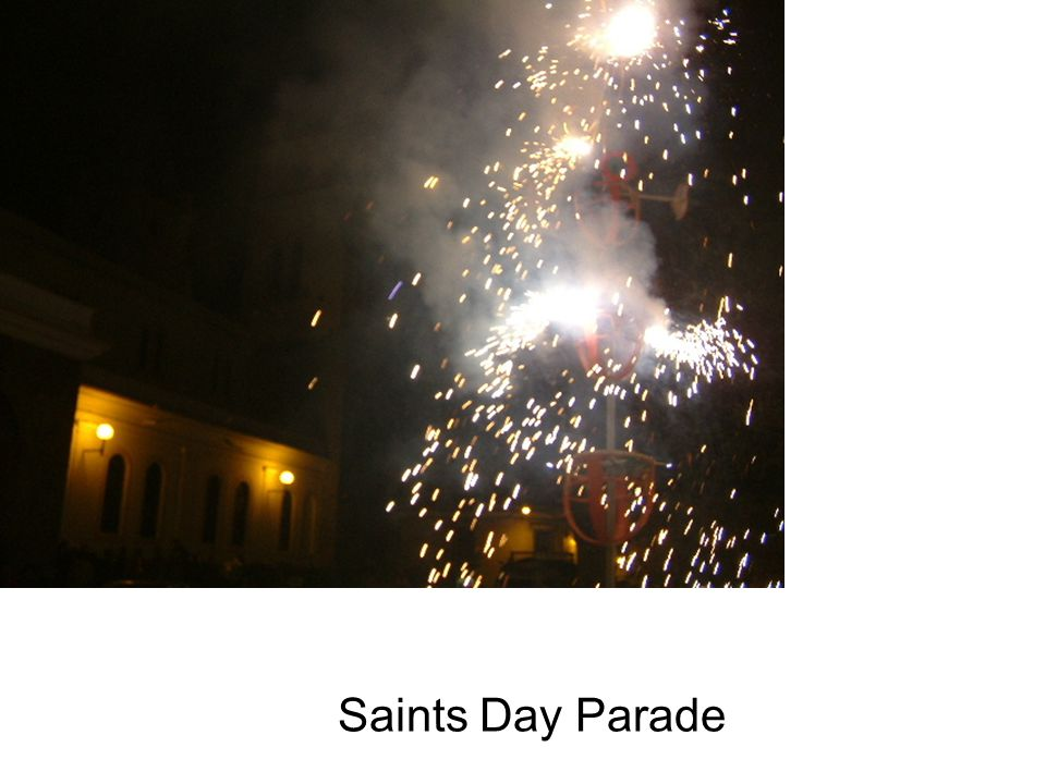 Saints Day Parade