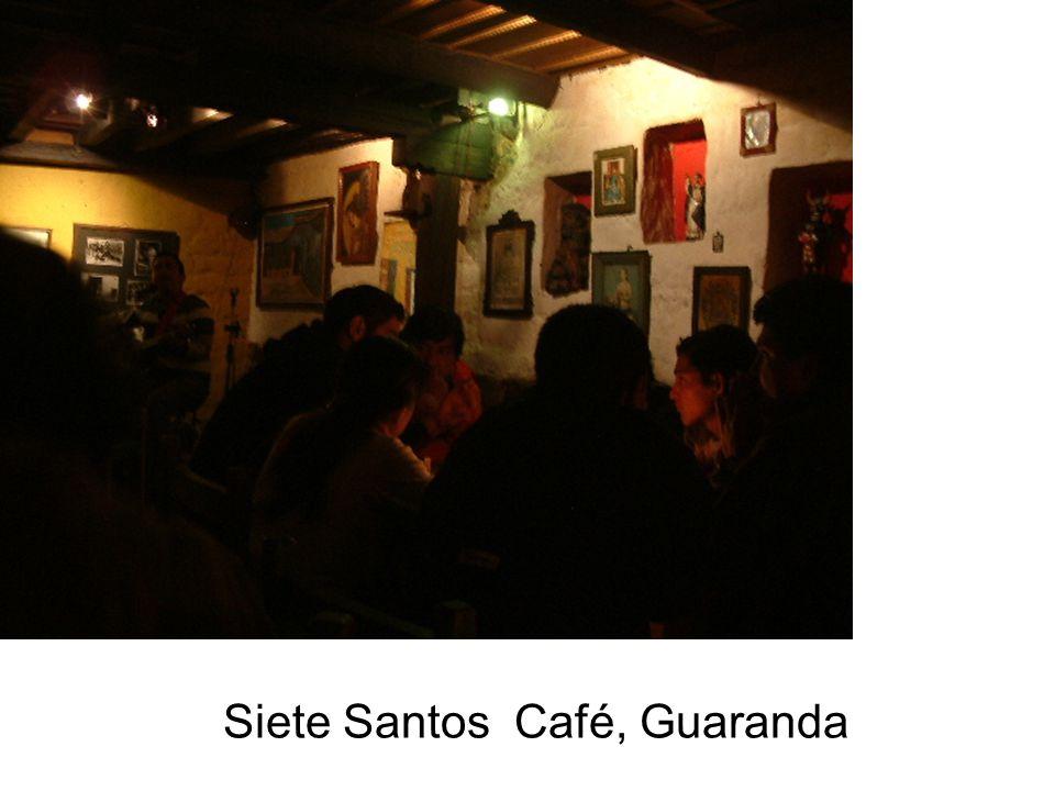 Siete Santos Café, Guaranda