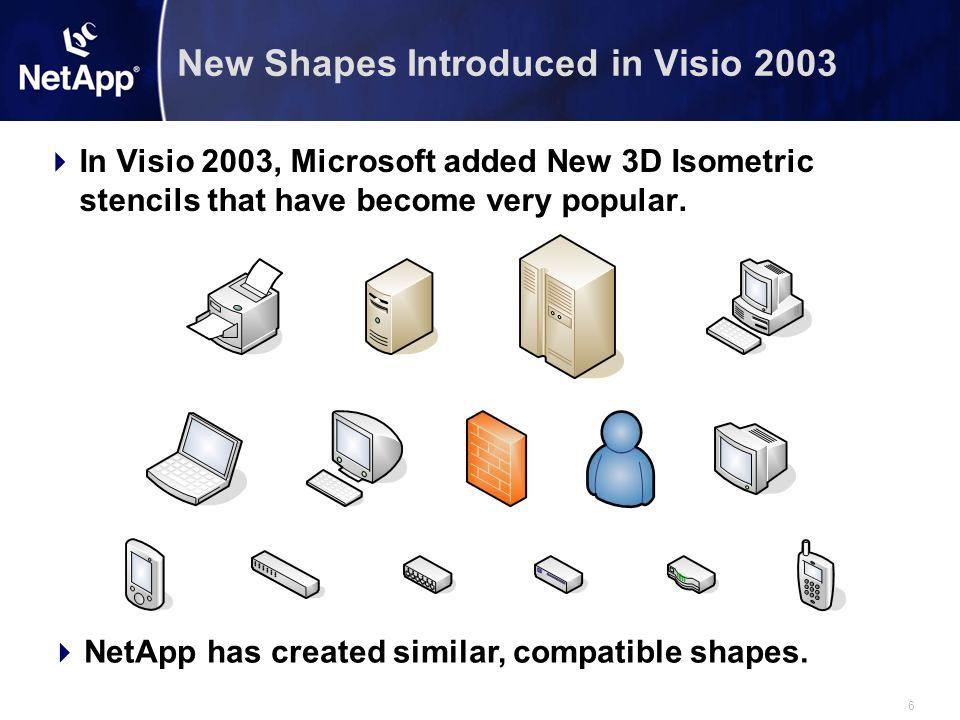 7 Matching NetApp 3D Isometric Shapes