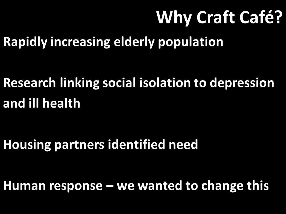 Why Craft Café.