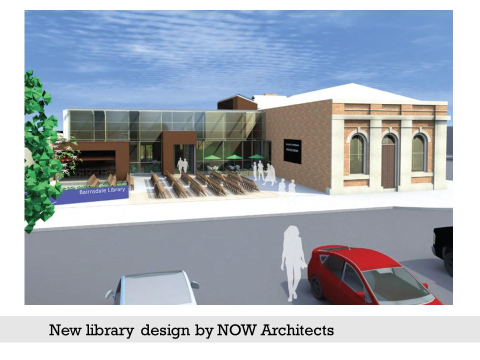 New library design by NOW Architects